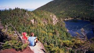 Appalachian Trail lovers in the White Mountains