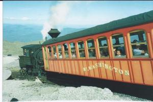 Cog Railway--Mt. Washington