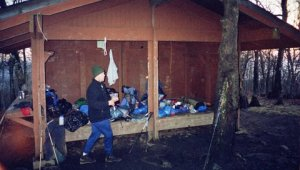 hiking shelter registers