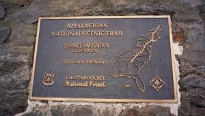 Begininning of Appalachian Trail--Georgia